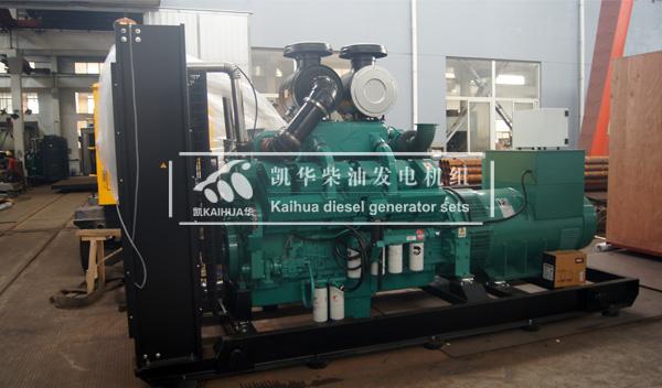 嘉兴食品公司728KW康明斯柴油发电机组