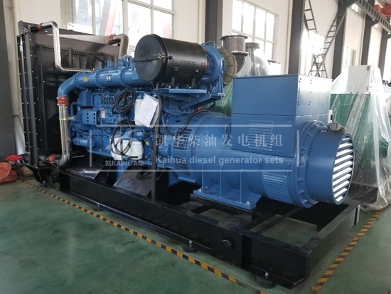 新款800KW玉柴柴油发电机组