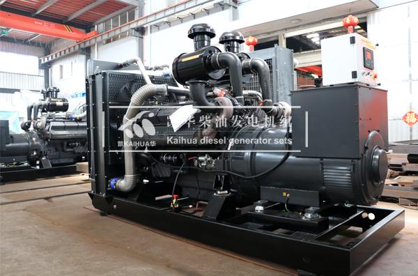新疆建设500KW上柴发电机组