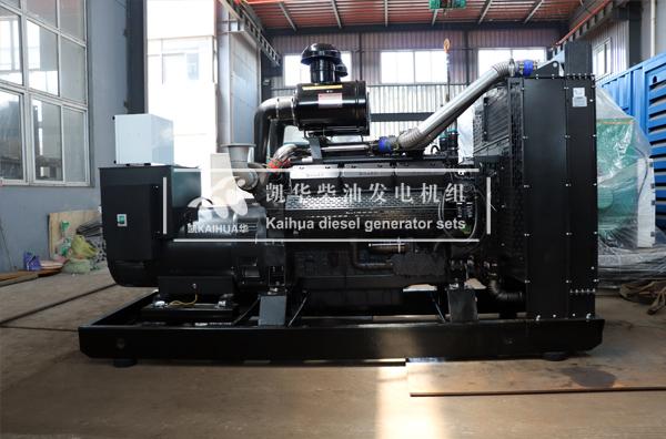 新疆建设500KW上柴柴油发电机组