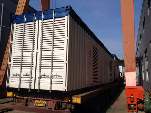 1000KW康明斯低噪音集装箱式柴油发电机组