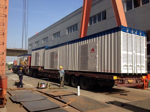 1000KW康明斯集装箱式柴油发电机组