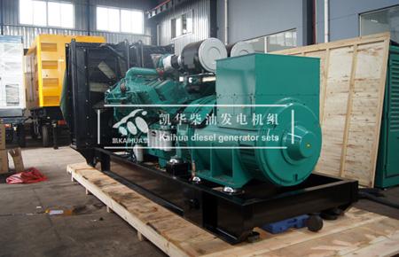 1200kw康明斯柴油发电机组出口蒙古