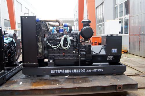 200KW上柴动力柴油发电机组