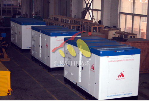 300kw沃尔沃柴油发电机