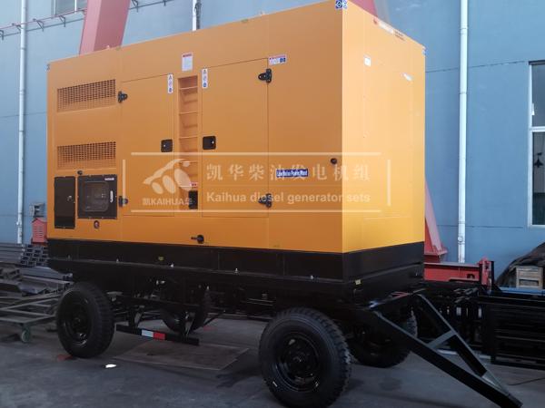 400KW康明斯移动式静音型柴油发电机组