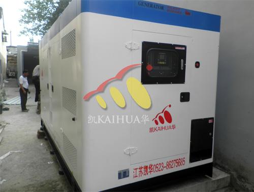 500KW康明斯静音型发电机