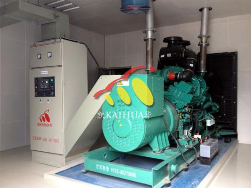 600KW康明斯ATS全自动柴油发电机