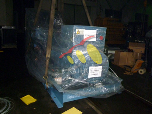600KW奔驰MTU发电机商检包装